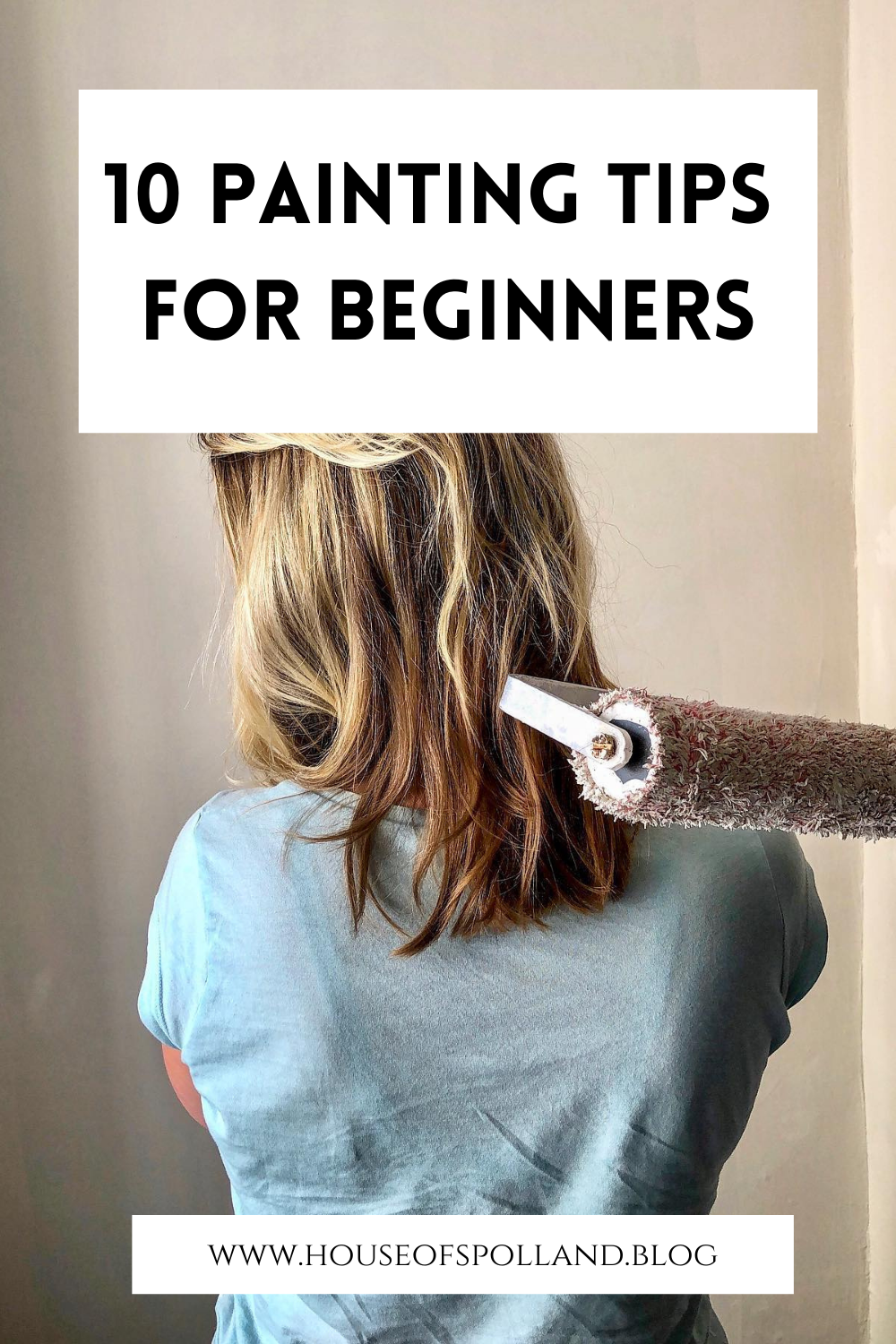 10 Painting Tips for Beginners (Pinterest Pin)