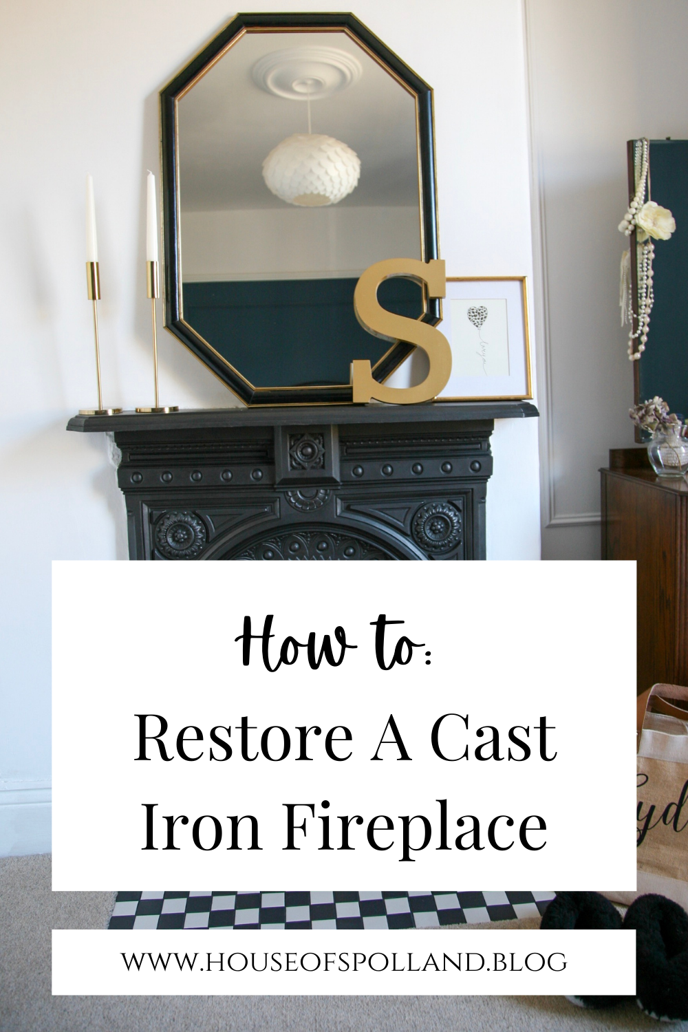 How to Restore A Cast Iron Fireplace